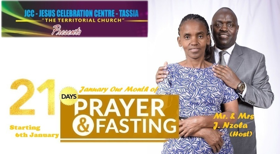 January our Month of Prayer and Fasting